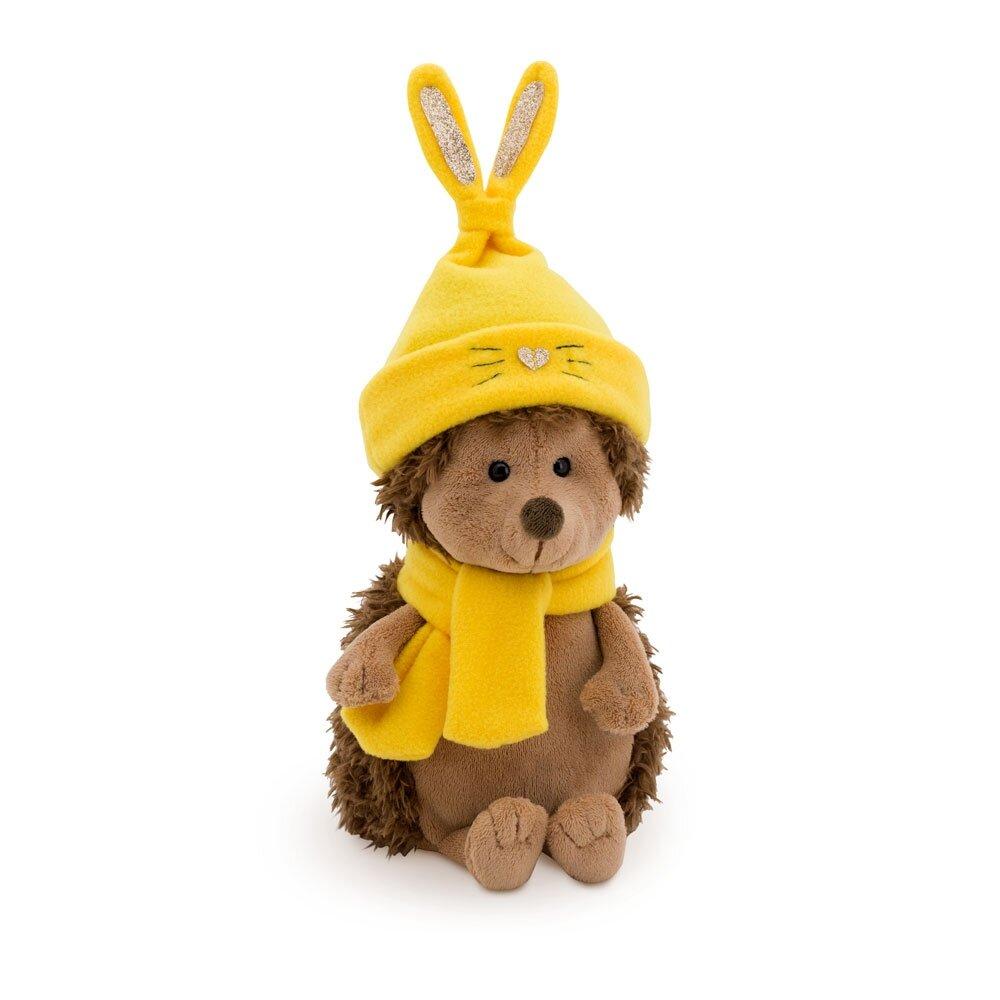Снимка на Настръхналият таралеж с шапка зайче
